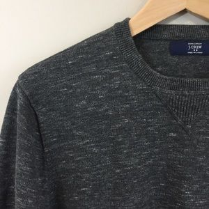 J. Crew Factory Heather Grey Sweatshirt Sweater M